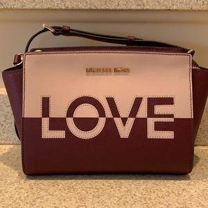 NWT Michael Kors Selma Crossbody Bag